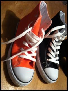 Sneakers Skopunkten Orange