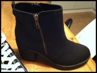 Tygskor Boots
